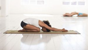 child pose yoga